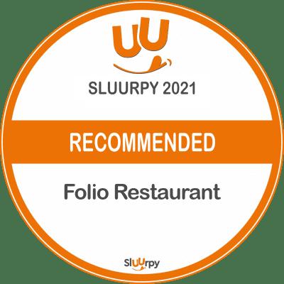 Folio Restaurant - Sluurpy